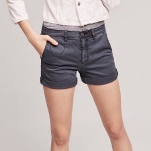 Anthropologie The Chino Blue Shorts